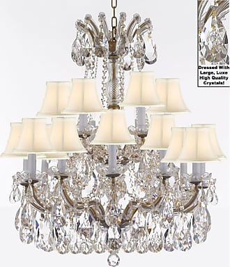 Gallery T22-2544 Maria Theresa 18 Light 28 Wide Crystal Chandelier