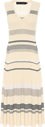 Proenza Schouler Striped knit midi dress