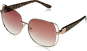 Vince Camuto Womens Vc833 Rgd Non-Polarized Iridium Oval Sunglasses, Rose Gold, 60 mm