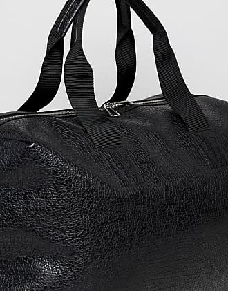 Paul Smith grained leather holdall in black - Black b471333bd73db