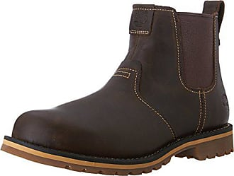 Timberland Mens Grantly Chelsea Boot, Dark Brown, 8 M US