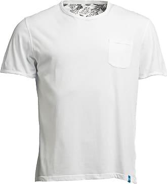 Panareha T-shirt con taschino MARGARITA bianco