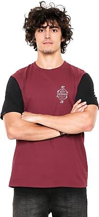 Rusty Camiseta Rusty Esp Bones Vinho