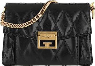 Givenchy Cross Body Bags - Small GV3 Bag Diamond Quilted Leather Black - black - Cross Body Bags for ladies