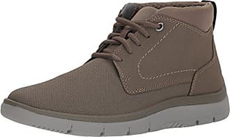 Clarks Mens Tunsil Mid Loafers, Stone, 9 M US