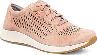 Dansko Womens Charlie Sneaker, Rose Suede, 37 M EU (6.5-7 US)