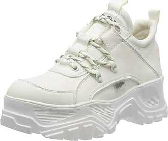 Buffalo Matrics Ct, Womens Hi-Top Trainers, White (White 000), 6 UK (39 EU)