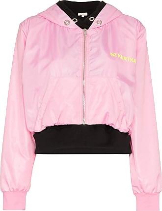 Natasha Zinko Bomber con zip - Di colore rosa