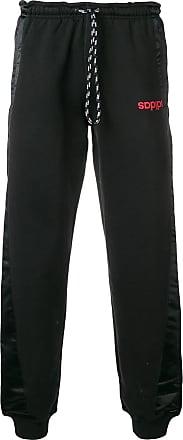 7bcd0f904b0 adidas Originals by Alexander Wang drawstring waist track pants - Black