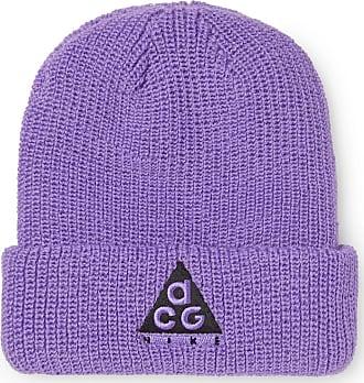 2ae2ea6eb1b Nike Acg Logo-embroidered Ribbed-knit Beanie - Purple