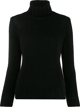 Incentive! Cashmere turtleneck jumper - Preto