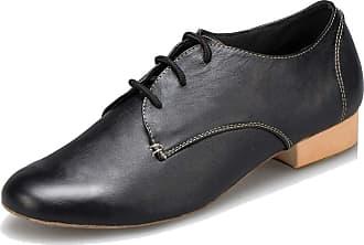 MGM-Joymod Mens Vintage Classic Lace-up Tango Salsa Wedding Ballroom Latin Modern Dance Shoes (Black) 8 M UK