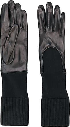 Gala Gloves Luvas com punho de tricô - Preto