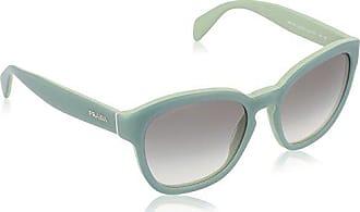 2c34074818 Prada 0PR17RS TKQ1E0 53 Gafas de Sol, Verde (Opal On Green), Mujer