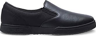 Wolverine Mens Urban Eatery Slip-ON Industrial Shoe, Black, 10 Extra Wide US