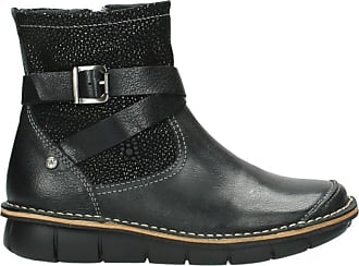 Wolky Comfort Boots Wales - 50000 Black Oiled Leather - 39