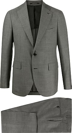 Tagliatore woven two-piece suit - Grey