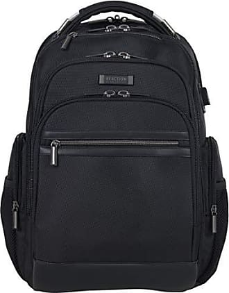 Kenneth Cole Reaction Kenneth Cole Reaction Triple Compartment 17 Laptop Backpack, Black, One Size
