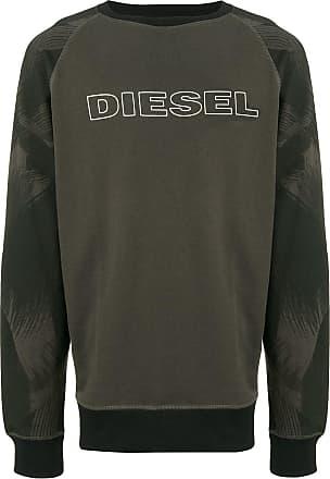 Diesel logo patch sweatshirt - Green