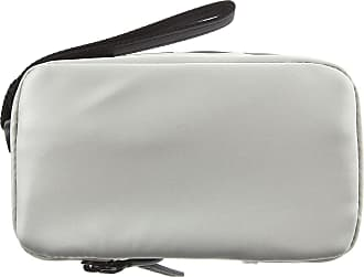 d2e455589cb Diesel Toiletry Bag for Men On Sale, Silver, polyurethane, 2017, one size