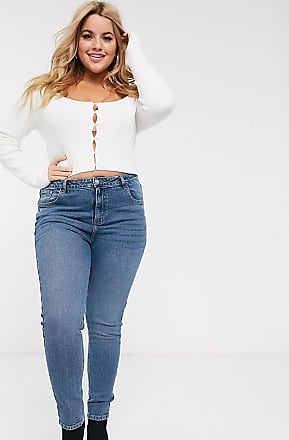 Urban Bliss high waisted skinny jeans-Blue