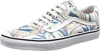 9495179ae1 Vans Damen Ua Old Skool Sneaker Mehrfarbig (Tropical Leaves True White) 37  EU