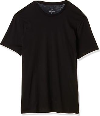 A X Armani Exchange Mens Pima Small Logo T-Shirt, Black (Black 1200), XX-Large