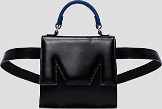 Msgm m bum bag in leather