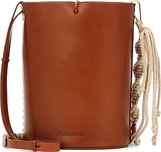 Nanushka Nia Mini leather bucket bag
