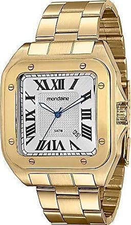 Mondaine Relógio Masculino Mondaine Analógico Clássico 78624GPMVDA2 - Dourado