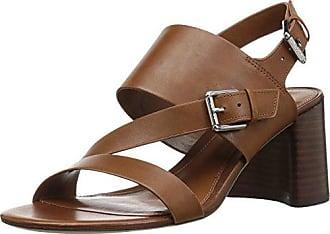 8c0b9d416c1 Ralph Lauren Lauren Ralph Lauren Womens Florin Heeled Sandal tan 9 B US