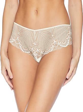 Wonderbra Womens Refined Glamour Shorty Panty Boy Short, Ivory, Medium
