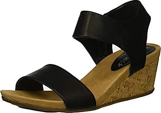 4eb7772110f7 Skechers Womens Cool Step-Ankle Strap Slide Fashion Casual Wedge Heeled  Sandal