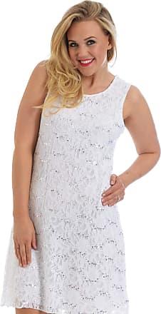 Nouvelle Collection Flapper Lace Dress White 20-22