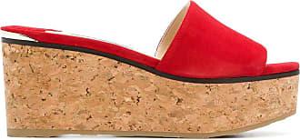 Jimmy Choo London Sapato mule Deedee - Vermelho