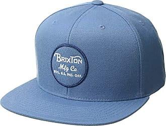 newest b6410 6e900 Brixton Wheeler Snapback (Grey Blue) Caps