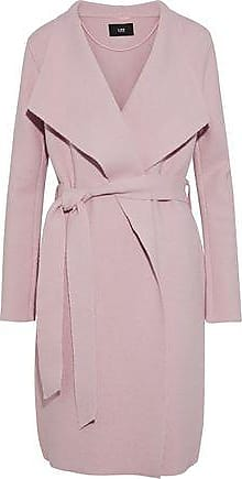 e8cb6308120 Line Line Woman Meghan Brushed Cotton And Wool-blend Coat Blush Size XS