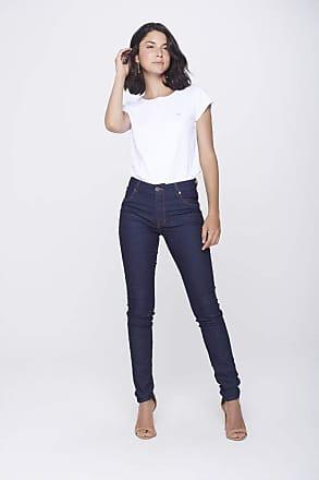 Damyller Calça Jegging Jeans com Bolsos Embutidos Tam: 38 / Cor: BLUE