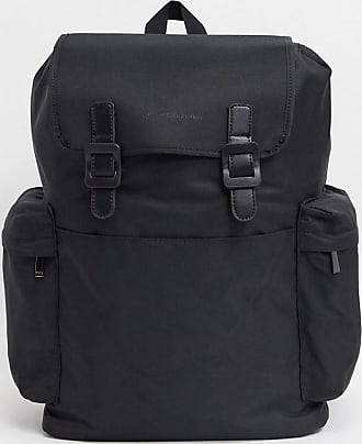 French Connection classic backpack bag-Black