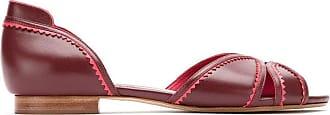 Sarah Chofakian Ballerine - Di colore rosso