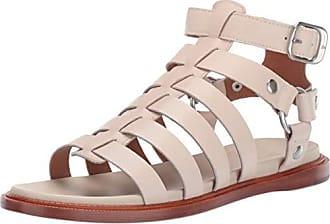 Frye Womens Andora Gladiator Flat Sandal, off off white, 9 M US