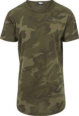 Urban Classics Camo Shaped Long Tee - T-Shirt - camouflage