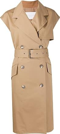 Fabiana Filippi short-sleeved trench - NEUTRALS