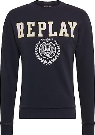 Replay Sweatshirt schwarz / weiß