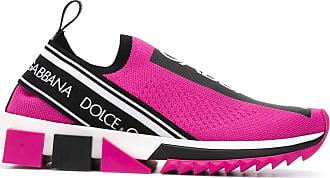 Dolce & Gabbana Tênis Sorrento com mesh e stretch - Rosa