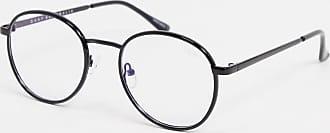 Quay Omen blue light glasses with black frames
