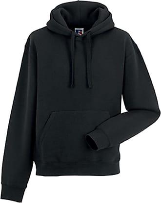Russell Athletic Russell Mens Authentic Hoodie Workwear Sweatshirt Black XL