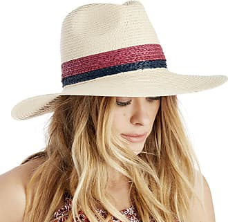 Sole Society Womens Wide Brim Straw Hat With Raffia Band Navy One Size From Sole  Society 0ca2109e3a7b