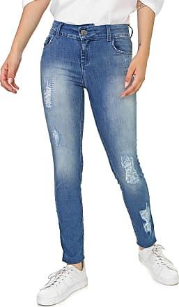 Triton Calça Jeans Triton Skinny Fátima Azul
