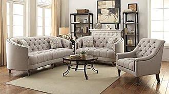 Coaster 505641-CO Fabric Sofa, Beige Finish